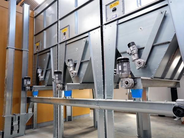 Dotare pentru descarcarea unor silozuri modulare