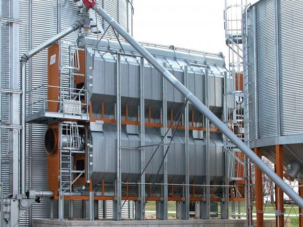 Uscarea cerealelor cu echipament dedicat